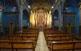 L'interior de l'església de la Salut.