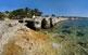 Es Racó de s'Alga és la platja més gran de les tres que hi ha a l'illa de s'Espalmador. L'acumulació de fulles mortes de posidònia ha creat curioses formacions.