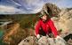 La via ferrata de la Pertusa, a Corçà, és un reclam per als escaladors. Als seus peus s'estén el pantà de Canelles i al fons s'alça la muntanya de Montfalcó.