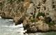 A la necròpolis de Cales Coves hi ha un centenar d'hipogeus excavats als penya-segats; es van usar per a enterraments entre el segle XI aC fins a l'arribada dels romans, el 123 aC.