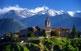 Bellver de Cerdanya està coronada per l'església gòtica de Santa Maria i Sant Jaume.