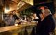 Situat a peu de carretera, La Chaumière és un dels restaurants més populars de Font-romeu, propietat de la Plàcida i el François Will.