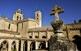 El cimbori gòtic, coronat per una llanterna barroca, és un dels elements característics del perfil de Santes Creus.