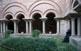 Puig i Cadafalch edificà el claustre del monestir de Sant Benet, d'inspiració romànica.