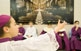 Durant la Festa del Bisbetó, que se celebra pels volts de Sant Nicolau, un escolà exerceix, per un dia, de màxima autoritat.