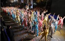 Desfilada de carnaval a Barcelona