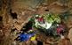 Al Garraf hi ha una de les concentracions més grans de cavitats dels Països Catalans.Se n'han topografiat centenars. L'avenc de l'Esquerra, a la foto, és el de més fondària de tot el conjunt del Garraf-Ordal amb 236 metres.