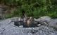 Als antics banys d'Arties, a la Vall d'Aran, és possible gaudir de les aigües termals a l'aire lliure.