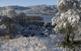 A l'hivern no és habitual veure nevat l'entorn de l'estany, però els temporals de l'any 2010 van deixar tot Banyoles emblanquinat.