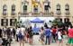 La plaça de la Vila va estar molt animada amb el taller de còctels