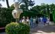 Les escultures esquitxen els camins dels Jardins de Santa Clotilde, fets construir pel marquès de Roviralta