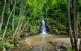 La ruta per la casa de la Serra d'Heures té una bonica recompensa: el salt d'aigua de la font de la Formiga, amb una vegetació exuberant.
