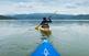 El pantà de Sau és un paradís d'aigua escortat per cingles de vertigen que ofereix moltes possibilitats de practicar algun esport nàutic.