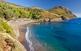 Per a sibarites, caletes on la paella se serveix a bord: platja de la Pelosa.