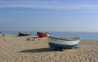 La Platja dels Pescadors de Badalona