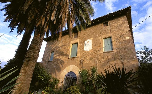 La masia de Can Zam, a Santa Coloma de Gramenet