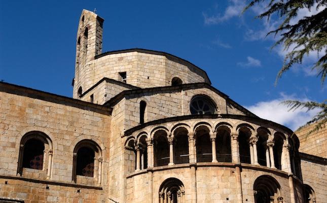 La catedral de la Seu d'Urgell, un dels punts per on passa la ruta de Belibasta
