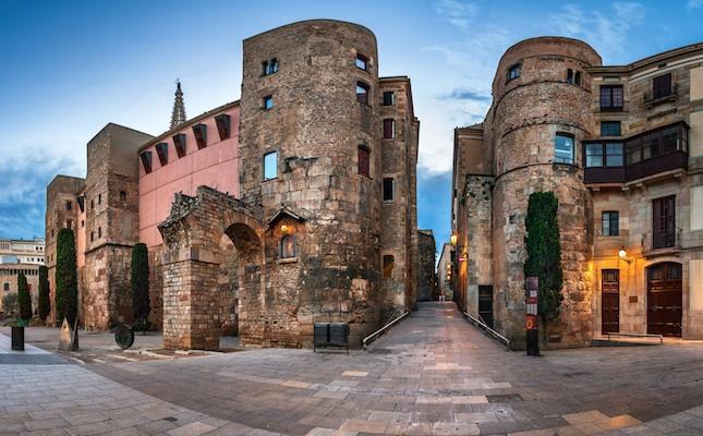 La plaça de la Catedral, al barri Gòtic de Barcelona