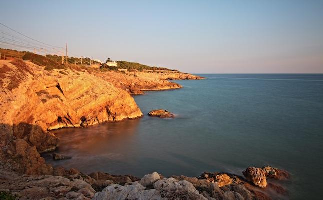 La punta Mabrera, a Vilanova i la Geltrú