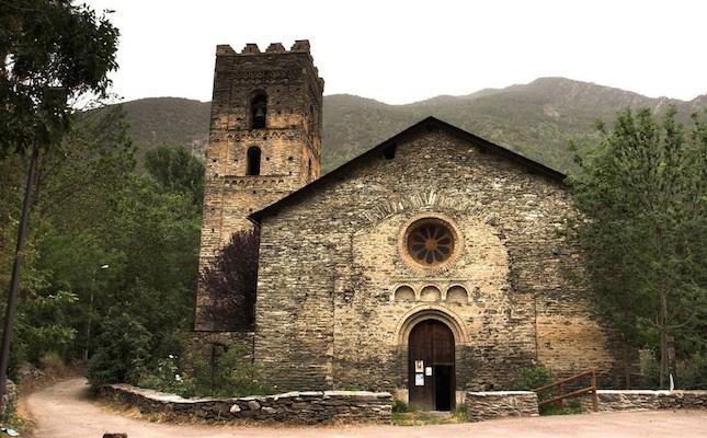 L'església de Santa Maria, a Ribera de Cardós