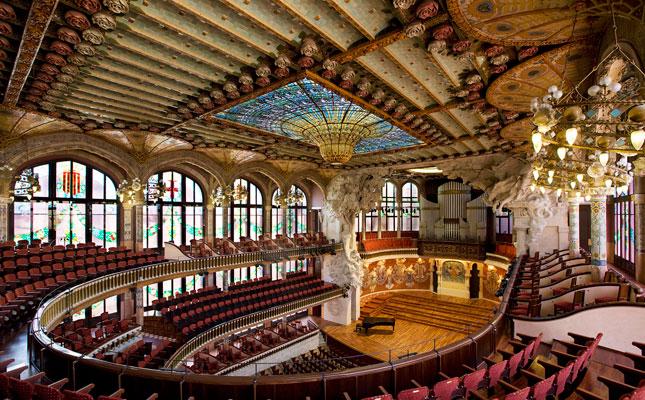 Interior Palau de la Música