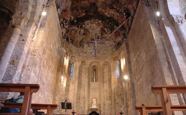 L'absis de Santa Maria de Gerri de la Sal