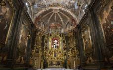 Imatge general de la capella dels Dolors, una joia del barroc català
