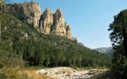 El paratge de la Vall, al Parc Natural dels Ports