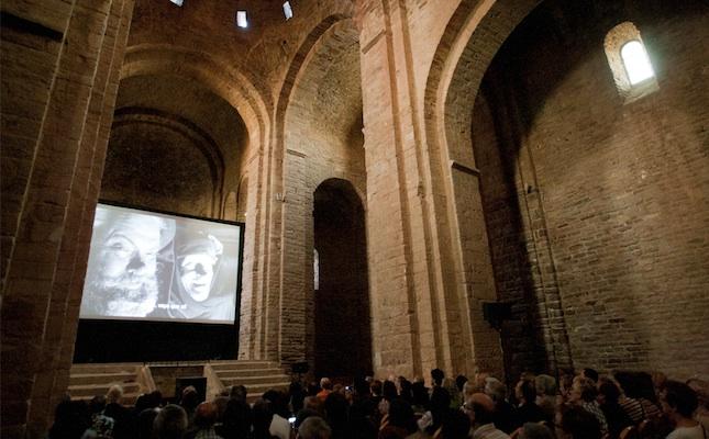 Projecció de la pel·lícula 'Campanades a mitjanit' a la col·legiata de Sant Vicenç de Cardona