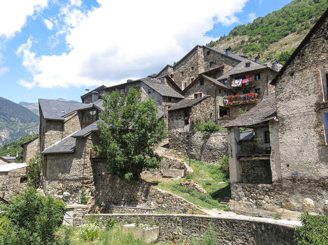 El pintoresc poble de Durro