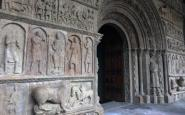 La portalada de Ripoll, restaurada