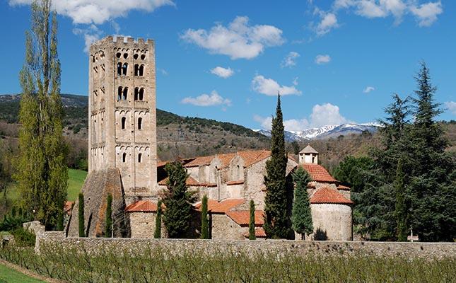 El monestir de Sant Miquel de Cuixà