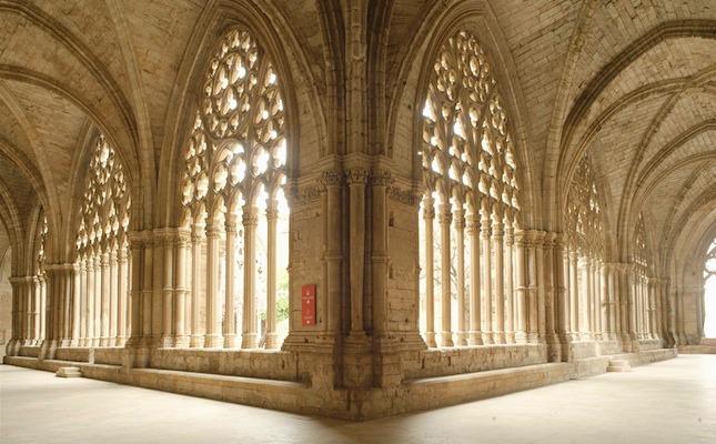 El claustre de la Seu Vella de Lleida