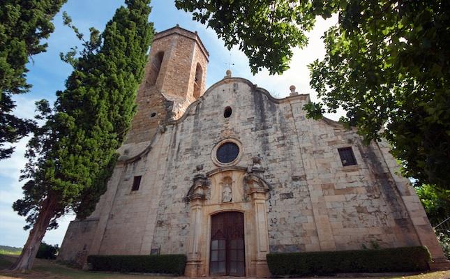 L'església de Sant Genís de Monells