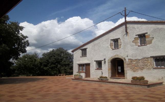 Façana de la casa rural Can Felip