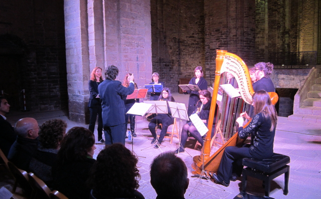 Un concert del Festival de Música Sacra, a Cardona