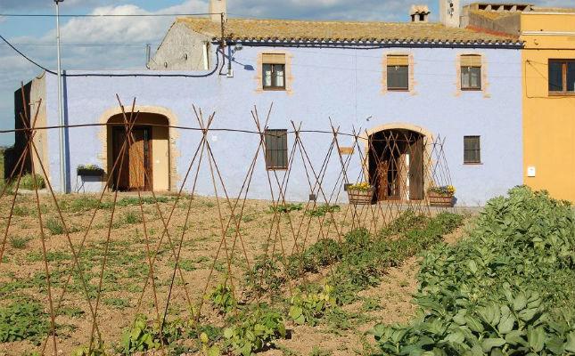 Vista exterior de la casa rural Les Orenetes