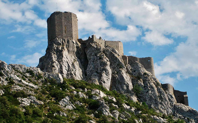 El castell de Querbús