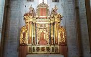El retaule barroc de les santes Càndia i Còrdula, a la catedral de Tortosa
