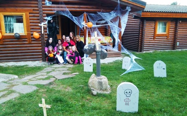 Castanyada i Halloween al càmping Vall de Camprodon