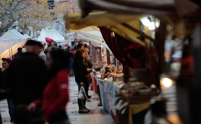 A la Fira del Pessebre d'Olot trobarem la millor decoració nadalenca
