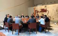 Reunió dels membres del Govern