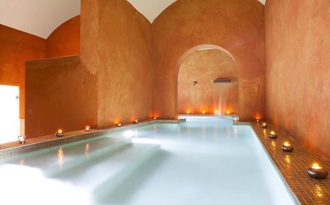 Spa de l'hotel Sant Pere del Bosc