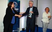 L'alcadessa Ada Colau lliura el Premi Nat 2018 a Frans de Waal