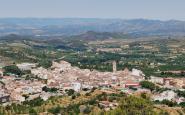 Una vista panoràmica de Falset, la capital del Priorat