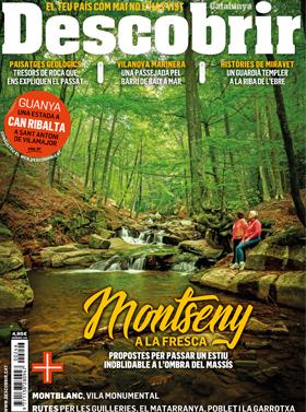 Portada Descobrir 246 - Montseny