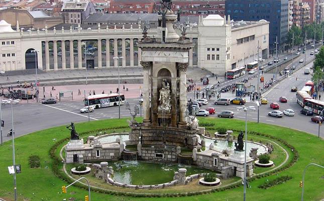 Font de la plaça d'Espanya de Barcelona