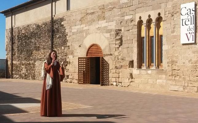 Visita teatralitzada d'una edició anterior al call jueu de Falset