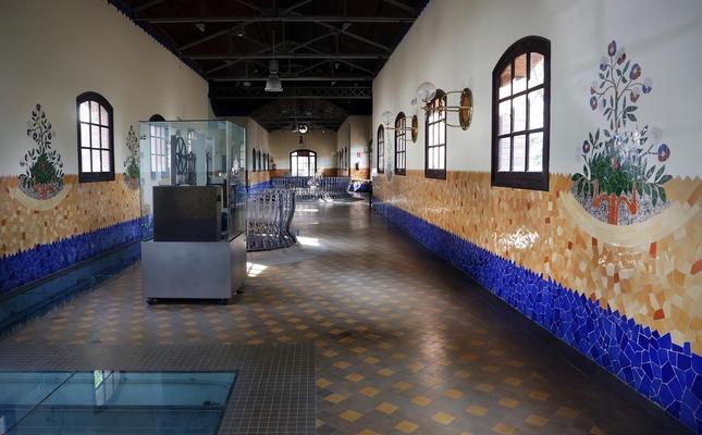 Interior de la Casa de les Aigües