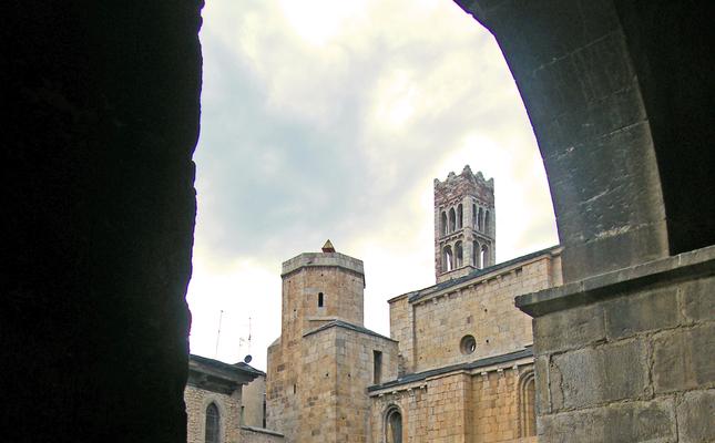 El claustre de la catedral de la Seu d'Urgell